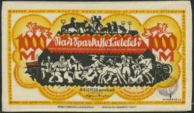 Notgeld Bielefeld GP.25a 1000 Mark 1922 Seide (1)