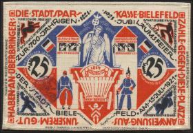 Bielefeld GP.16b 25 Mark 1921-22 Leinen (1)