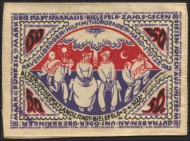 Bielefeld GP.19b 50 Mark 1922 Seide (1)