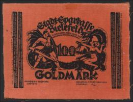 Bielefeld GP.61 100 Goldmark 1923 Samt (2)