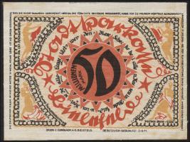 Bielefeld GP.36 50 Millionen Mark 1923 Leinen (1-)