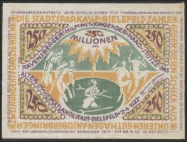 Bielefeld GP.37 250 Milliarden Mark 1923 Leinen (1/1-)