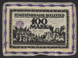 Bielefeld GP.21bd 100 Mark 1921 Leinen (2)