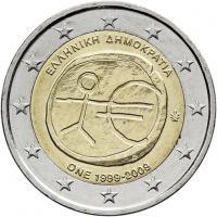 Griechenland 2 Euro 2009 WWU