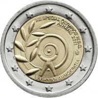 Griechenland 2 Euro 2011 Special Olymics