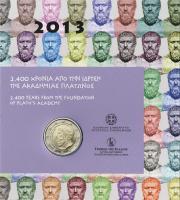 Griechenland 2 Euro 2013 Platon im Blister