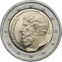 Griechenland 2 Euro 2013 Platon