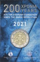 Griechenland 2 Euro 2021 200 Jahre Revolution Coincard