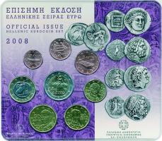 Griechenland Euro-KMS 2008