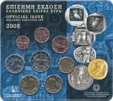 Griechenland Euro-KMS 2005