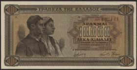 Griechenland / Greece P.120a 10000 Drachmen 1942 (1)