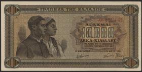 Griechenland / Greece P.120a 10000 Drachmen 1942 (1)
