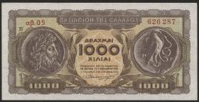 Griechenland / Greece P.326b 1000 Drachmen 1953 (1)