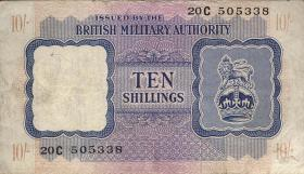 Großbritannien / Great Britain P.M05 10 Shillings (1943) (3)