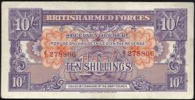 Großbritannien / Great Britain P.M14 10 Shillings (1946) (2)