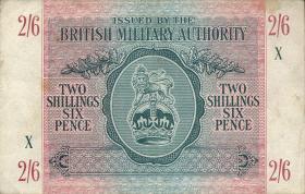 Großbritannien / Great Britain P.M03 2 Shillings / 6 Pence (1943) (3)