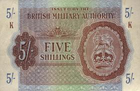Großbritannien / Great Britain P.M04 5 Shillings (1943) (2)
