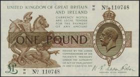 Großbritannien / Great Britain P.361 1 Pound (1928) (1)