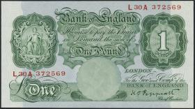 Großbritannien / Great Britain P.363c 1 Pound (1934-39) (1)