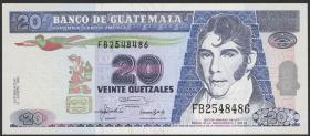 Guatemala P.083 20 Quetzales 1992 (1)