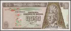 Guatemala P.086b 1/2 Quetzal 1994 (1)