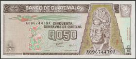 Guatemala P.096 1/2 Quetzal 1996 (1)