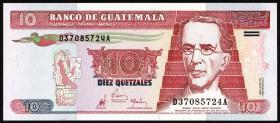 Guatemala P.101 10 Quetzales 1998 (1)