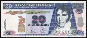 Guatemala P.108 20 Quetzales 2003 (1)