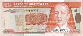 Guatemala P.084 50 Quetzales 1992 (1)