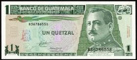 Guatemala P.087a 1 Quetzal 1993 (1)