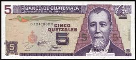 Guatemala P.092 5 Quetzales 1994 (1)
