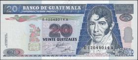 Guatemala P.093 20 Quetzales 1995 (1)