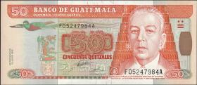Guatemala P.094 50 Quetzales 1995 (1)
