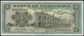 Guatemala P.052i 1 Quetzal 1972 (1)