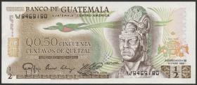 Guatemala P.058c 1/2 Quetzal 1983 (1)