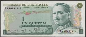 Guatemala P.059b 1 Quetzal 1974 (1)