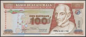 Guatemala P.078c 100 Quetzales 1992 (1)