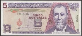 Guatemala P.081 5 Quetzales 1992 (1)
