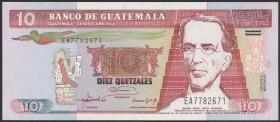Guatemala P.082 10 Quetzales 1992 (1)