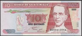 Guatemala P.089 10 Quetzales 1995 (1)
