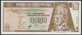 Guatemala P.098 1/2 Quetzal 1998 (1)