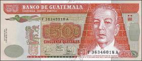 Guatemala P.113a 50 Quetzales 2006 (1)
