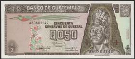 Guatemala P.079 1/2 Quetzal 1992 (1)
