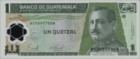 Guatemala P.115a 1 Quetzal 2008 Polymer (1)