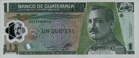 Guatemala P.115b 1 Quetzal 2012 Polymer (1)