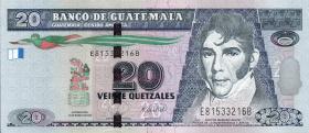 Guatemala P.118 20 Quetzales 2008 (1)