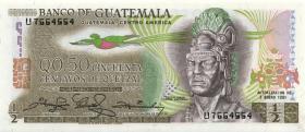 Guatemala P.058c 1/2 Quetzal 1981 (1)