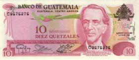 Guatemala P.061c 10 Quetzales 1983 (1)