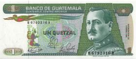 Guatemala P.066 1 Quetzal 1989 (1)