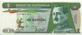 Guatemala P.066 1 Quetzal 1985 (1)